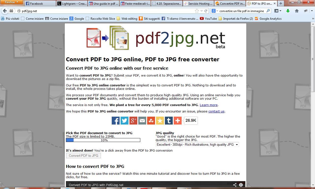 convertire pdf a jpg