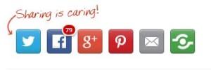 shareaholic per condividere sui social media